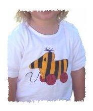 T Shirts Bemalen Am Kindergeburtstag Kindergeburtstags Ideen
